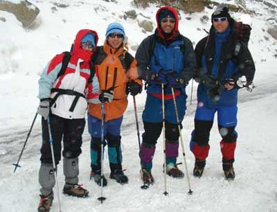 Gredos. Travesía invernal: plataforma de Hoyos-La Mira-plataforma de Nogal de Barranco
